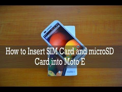 moto e sd card instructions