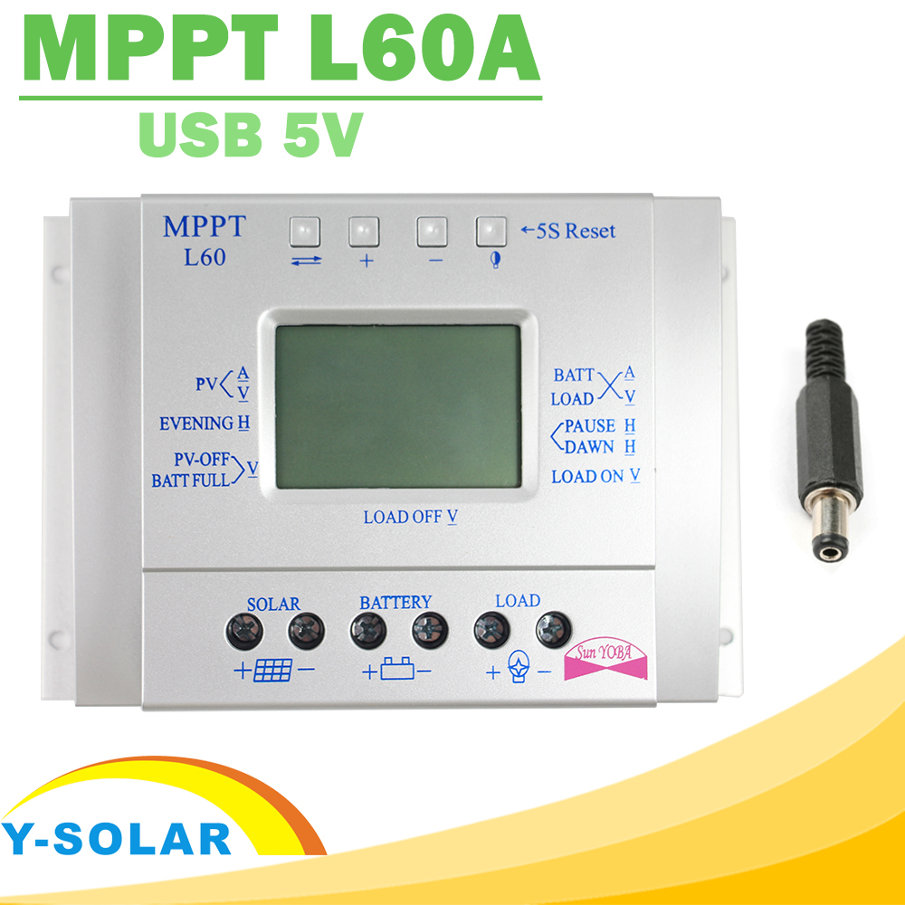 mppt 60a solar charge controller instructions