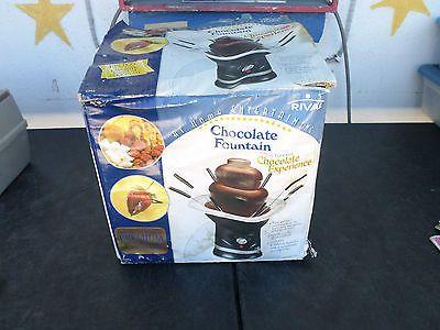 nostalgia electrics mini chocolate fountain instructions