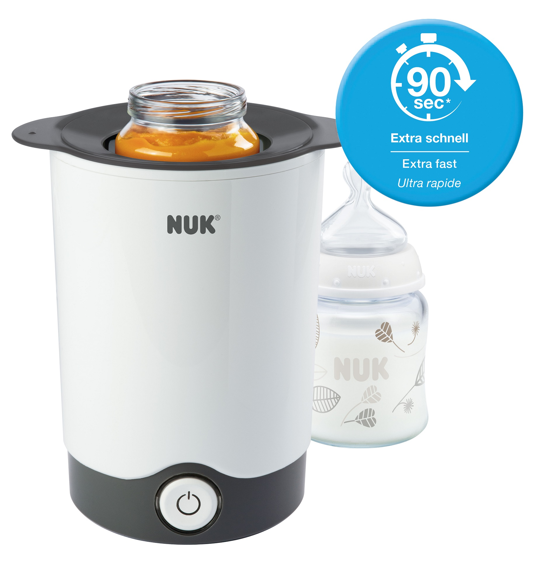 nuk thermo express bottle warmer instructions