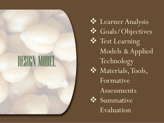 objective based instructional design