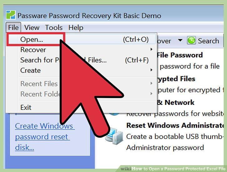 password reset key 2 instructions