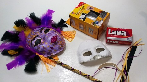 plaster of paris face mask instructions