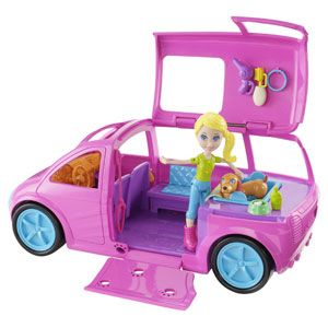 polly pocket party bus instructions