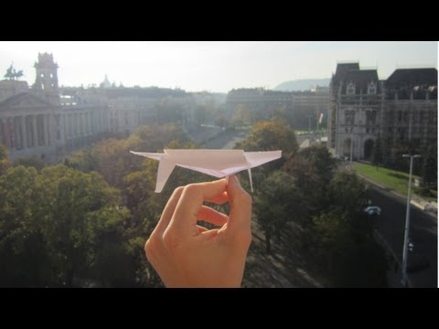 record paper airplane bat instructions