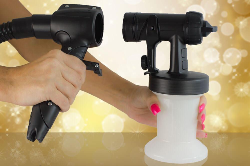 salon bronze airbrush tanning system instructions