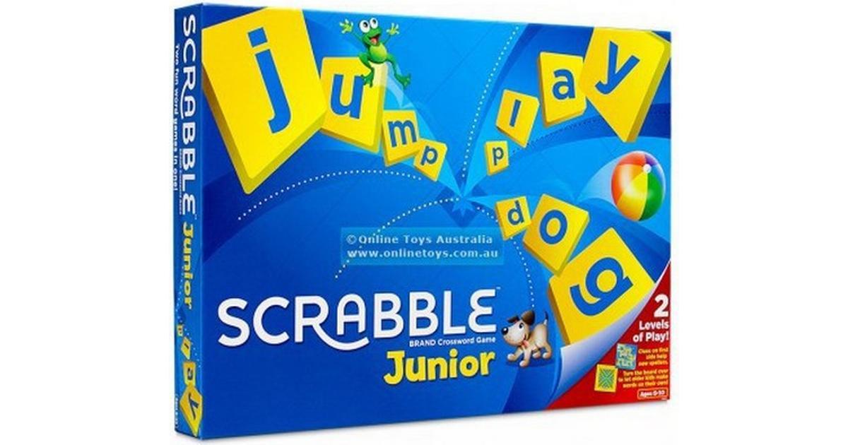 scrabble junior instructions hasbro