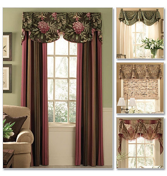 sewing window treatments instructions