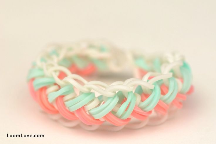 snake belly loom band instructions