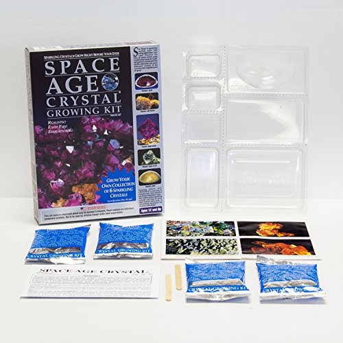 space age crystal growing kit instructions amethyst