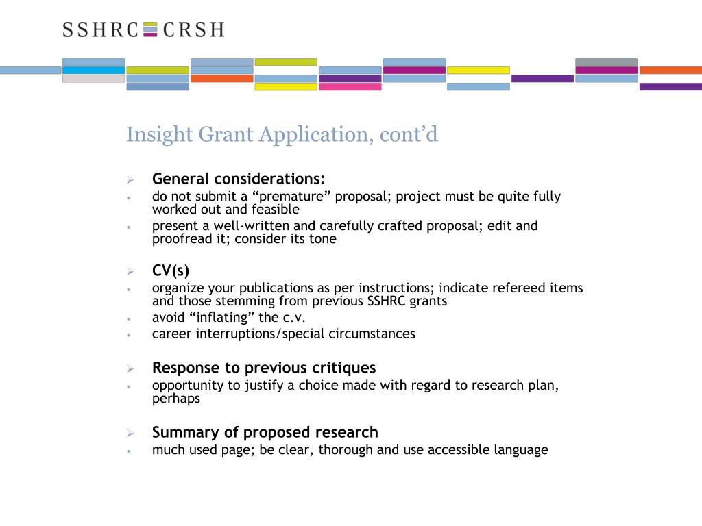 sshrc insight grant instructions