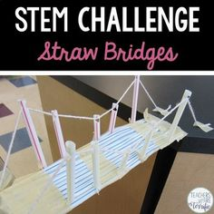straw tower activity instructions