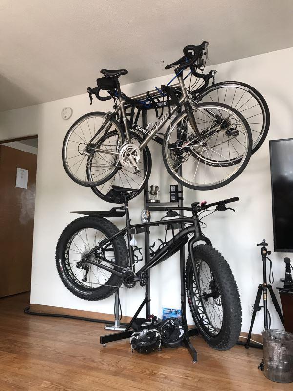 thule bike stacker instructions