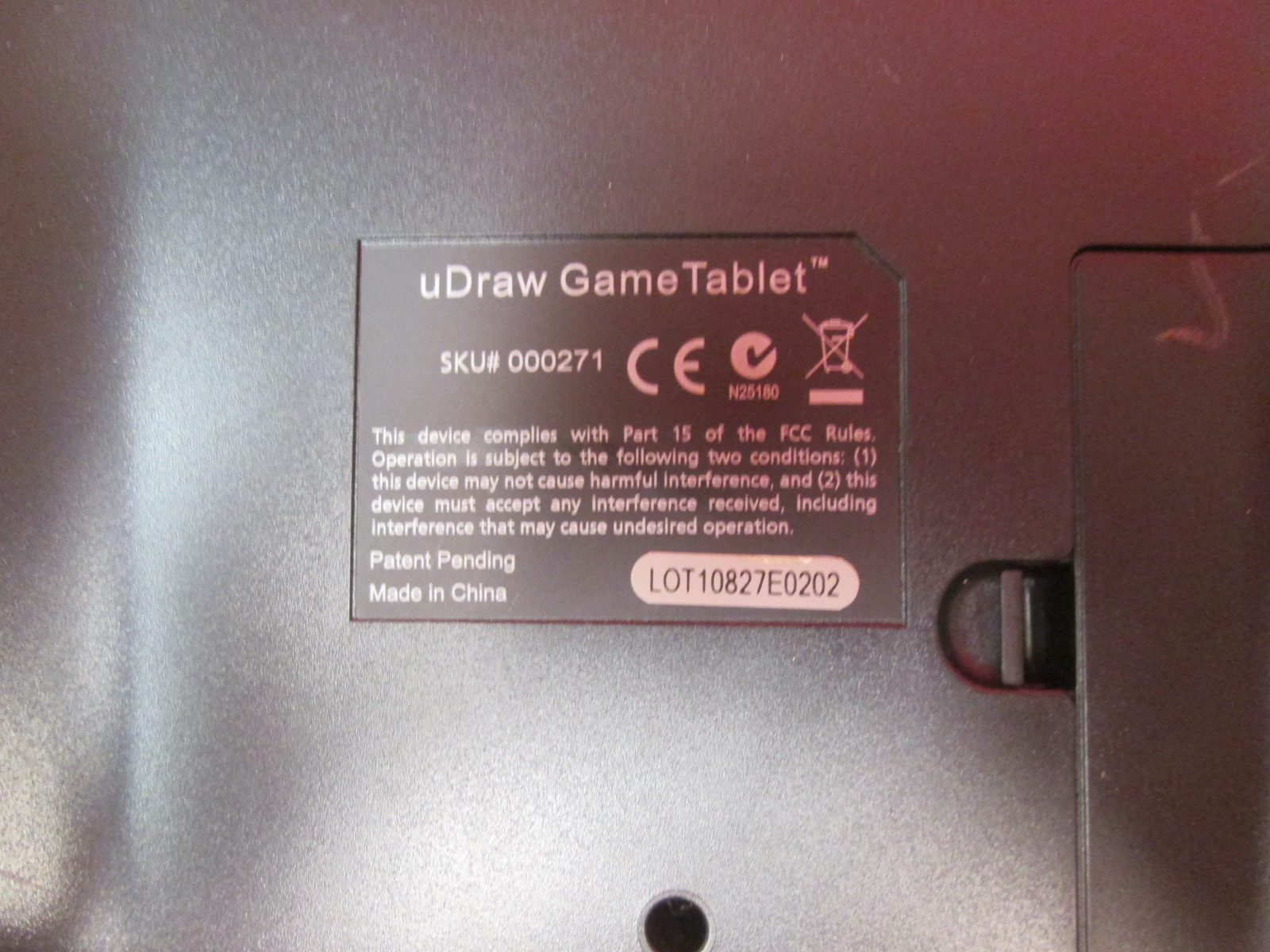 udraw game tablet ps3 instructions wii