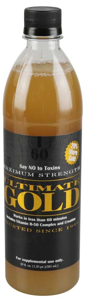 ultimate gold detox 20 oz instructions