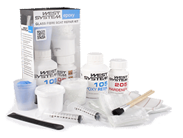 west system fiberglass repair kit instructions
