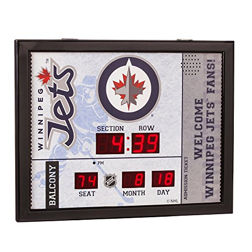 winnipeg jets scoreboard clock instructions